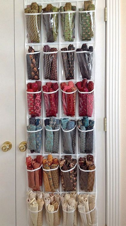 atelier de costura - painel de tecidos