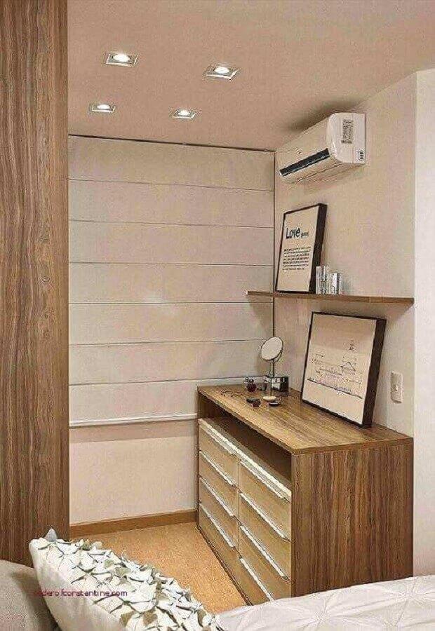 cômoda de madeira  Foto PR Arquitetura
