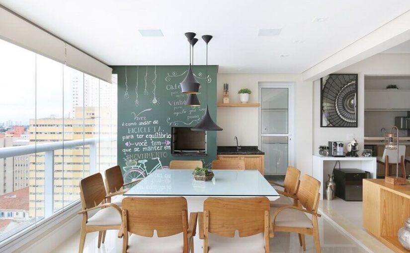Dicas para Apartamento com Varanda Gourmet Decorada