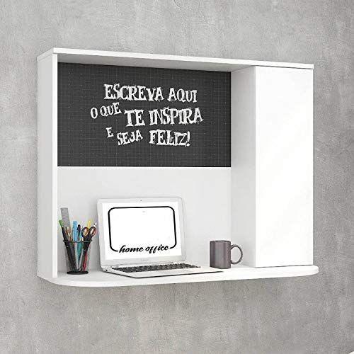 escrivaninha suspensa - escrivaninha com painel de lousa