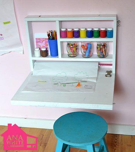 escrivaninha suspensa - escrivaninha infantil suspensa