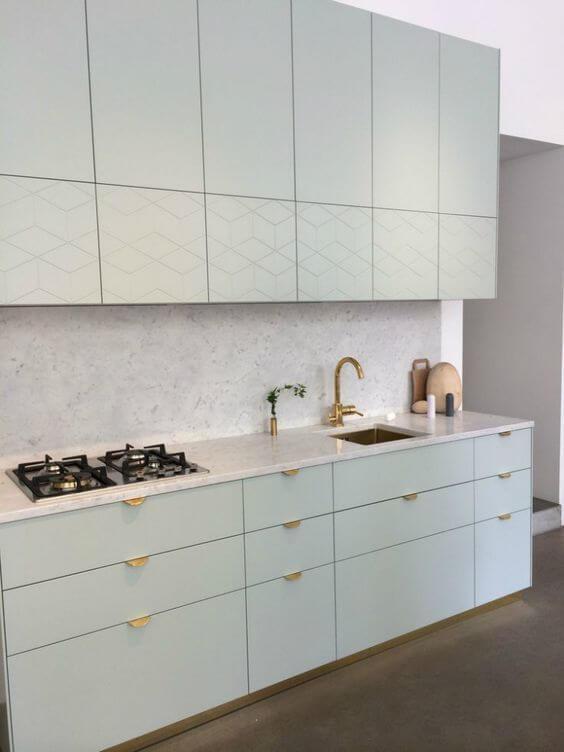 Modelos de cozinha brancas