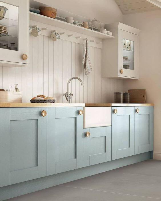 Modelos de cozinha com armários