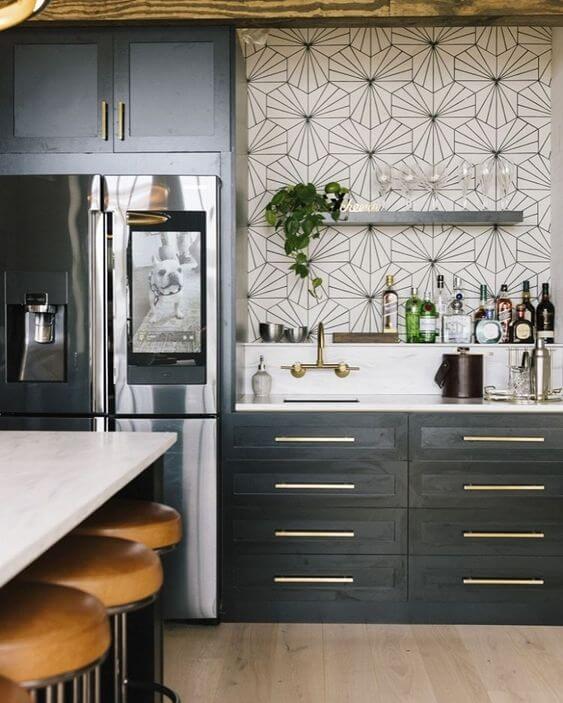 Modelos de cozinha e armários de cozinha