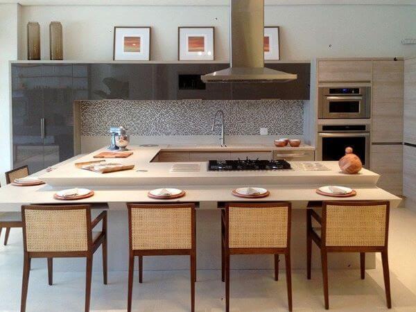 Modelos de cozinha gourmet