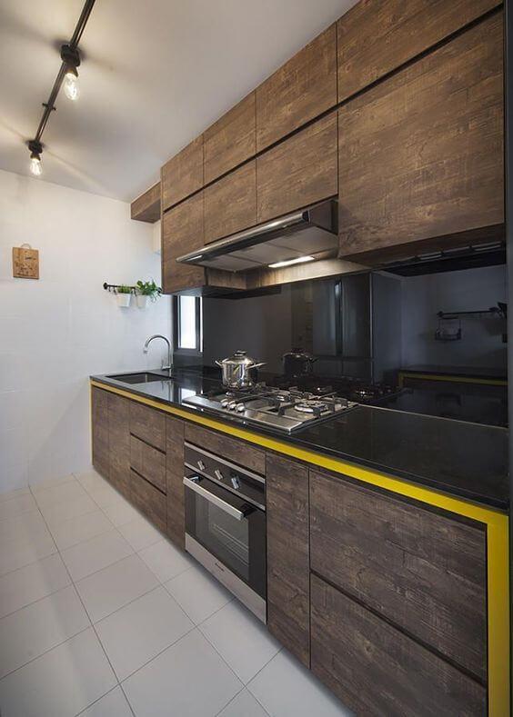 Modelos de cozinha com iluminação diferenciada
