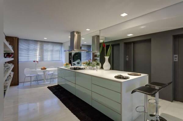 Modelos de cozinha com ilha gourmet
