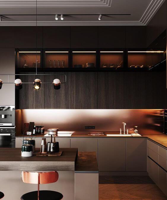 Modelos de cozinha planejada