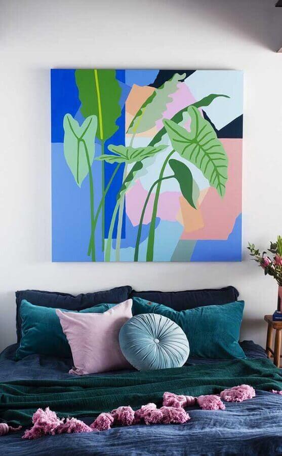 quadros decorativos tumblr com estilo tropical Foto Wood Save