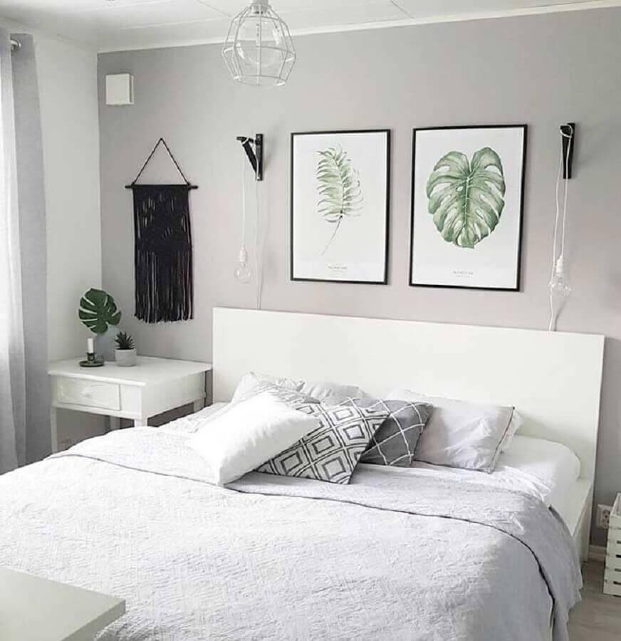 quadros para quarto tumblr decorado Foto Casa Perferies