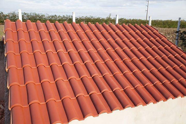 telha portuguesa - telhado de telha portuguesa novo