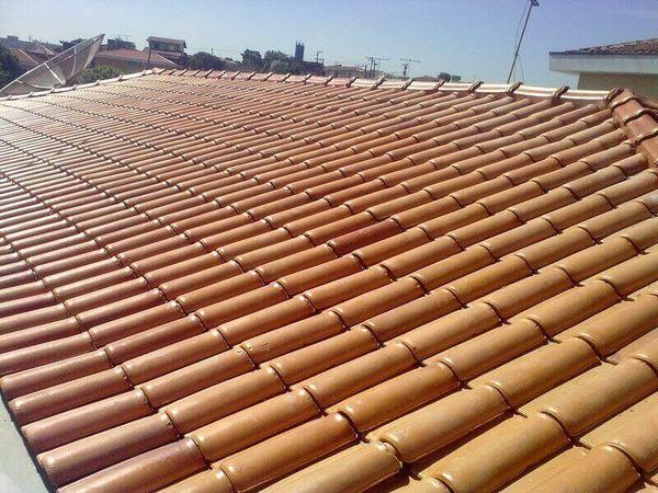 telha portuguesa - telhado de telhas portuguesa