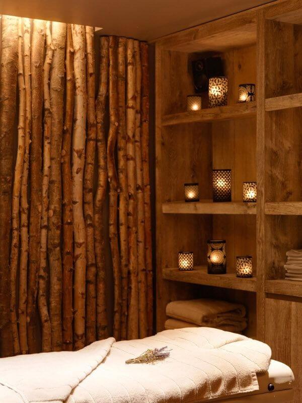 A cerca de bambu é muito utilizada em um ambiente de Spa