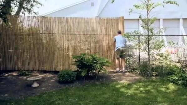 Como fazer cerca de bambu