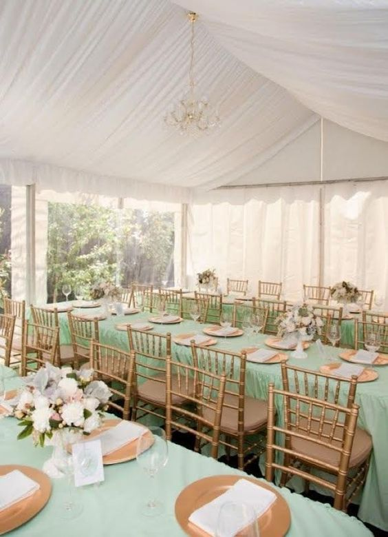 bodas de ouro - mesa de convidados para casamento