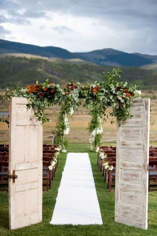 casamento rústico no campo Foto CoachDecor