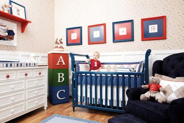 enfeites para quarto de bebê