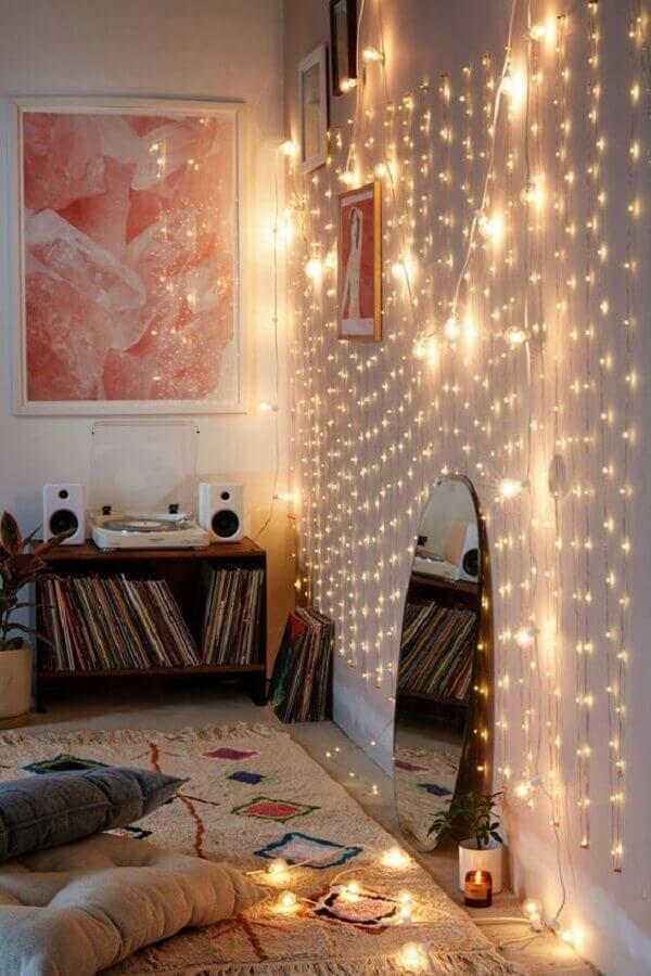 Luzes para quarto são encantadoras