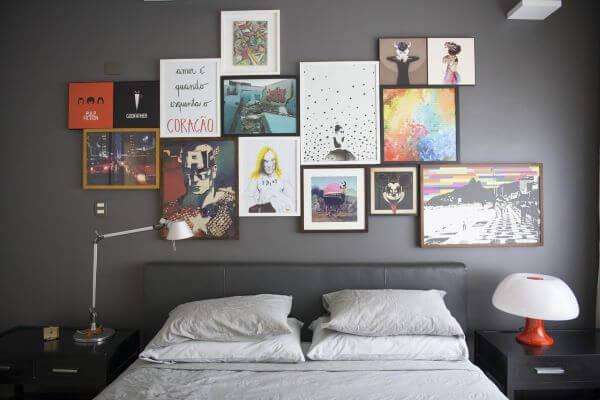 Enfeites para quarto moderno