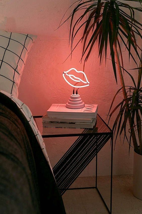 Enfeites para quarto feminino com luminárias de led