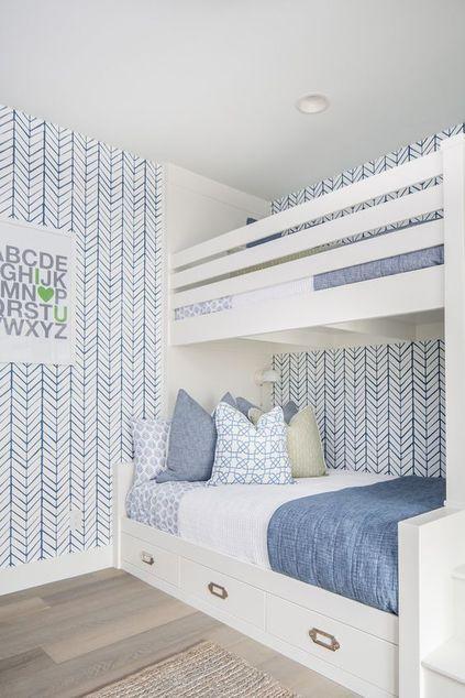 papel de parede geométrico - papel de parede geométrico e decoração azul claro