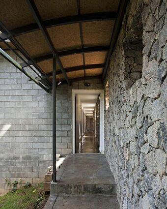 parede de pedra - parede com acabamento de pedra