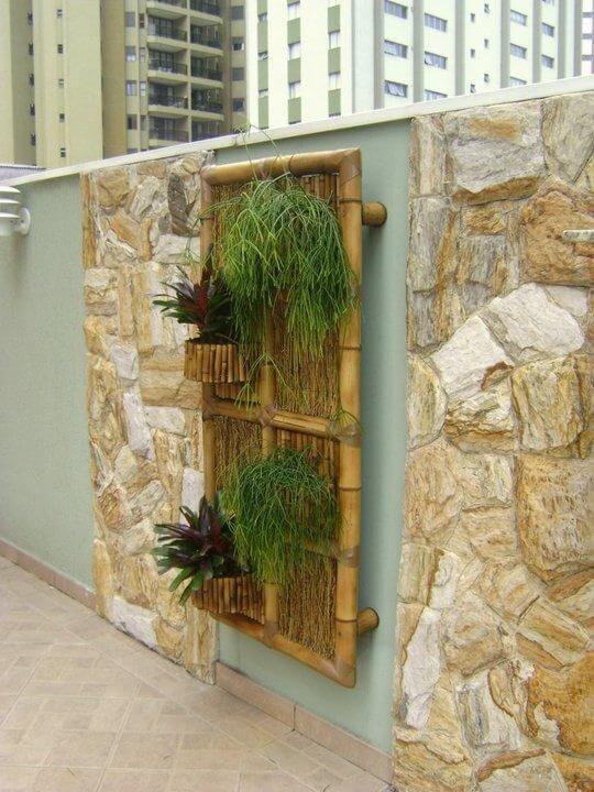 parede de pedra - parede com revestimento de pedra clara