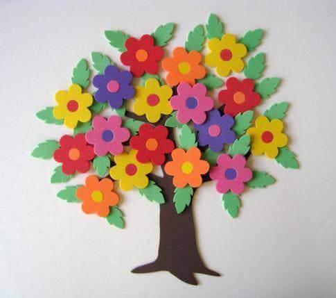 As flores de EVA podem ser de vários estilos