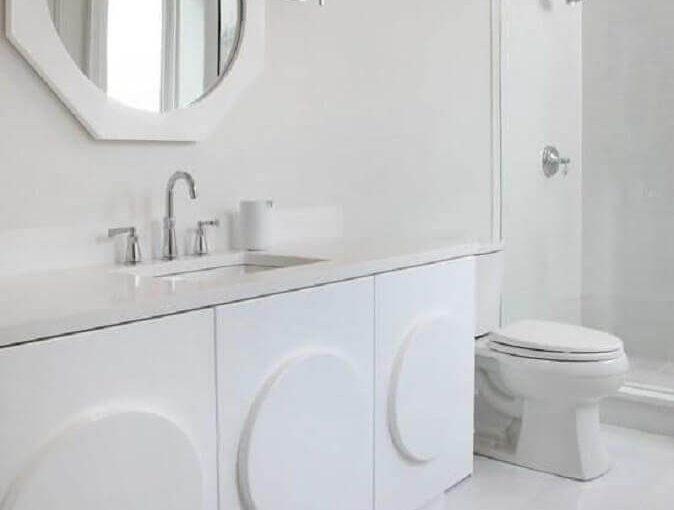Banheiro Branco: Saiba Como Decorar +56 Modelos Lindos