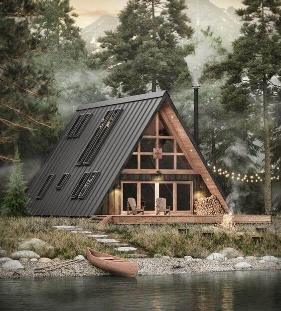 casas de madeira - bangalô de madeira