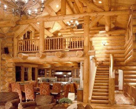 casas de madeira - casa de madeira com vigas