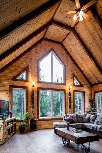 casas de madeira - casa de madeira grande