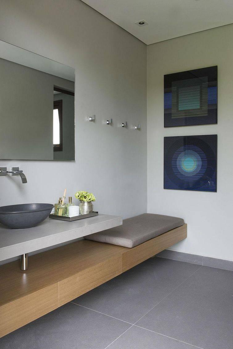 Cuba para banheiro de metal combina com um ambiente mais moderno