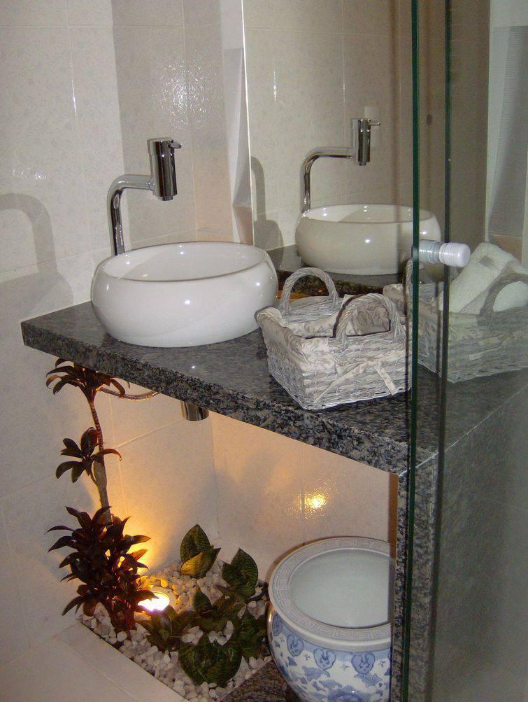 Cuba para banheiro redonda