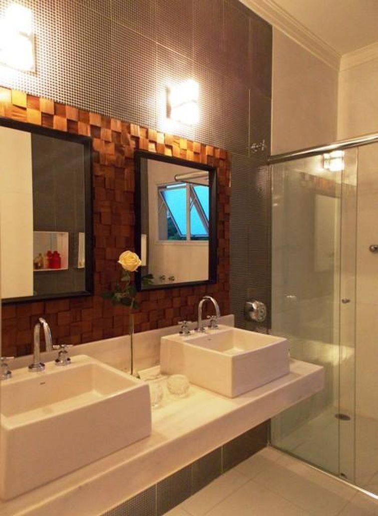 Cuba para banheiro quadrada