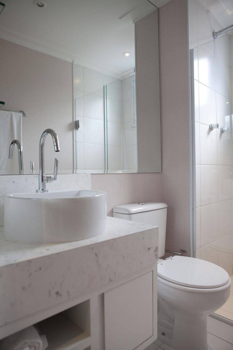 Você pode otimizar o espaço com uma cuba para banheiro adequada