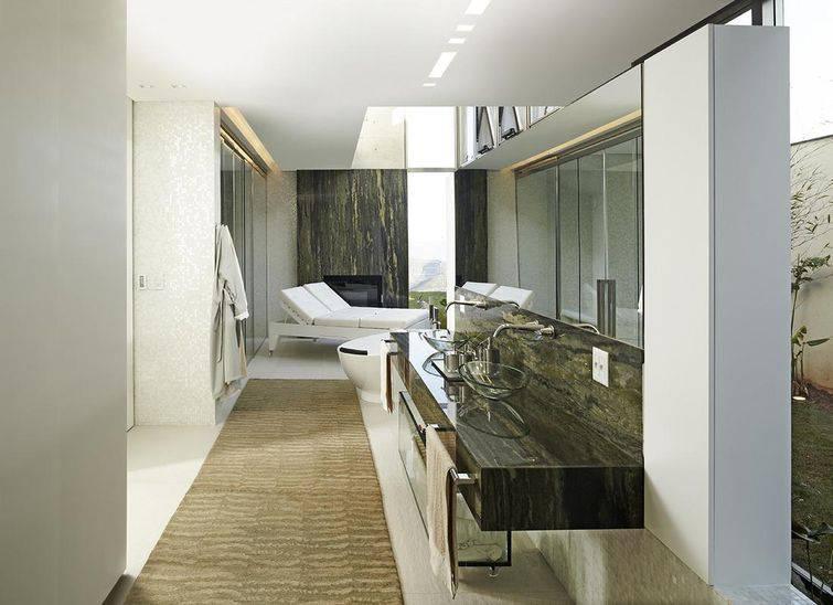 Cuba para banheiro feita de vidro