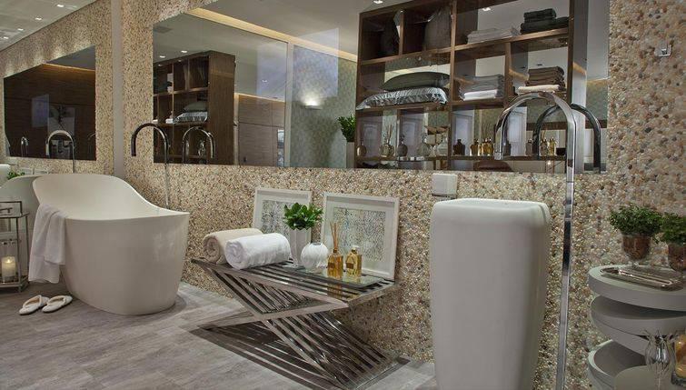Cubade banheiro com um design bem exclusivo e inusitado