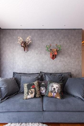 Almofadas decorativas de animais Projeto de Liane Martins