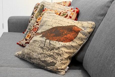 Almofadas decorativas de natureza Projeto de Zark Studio