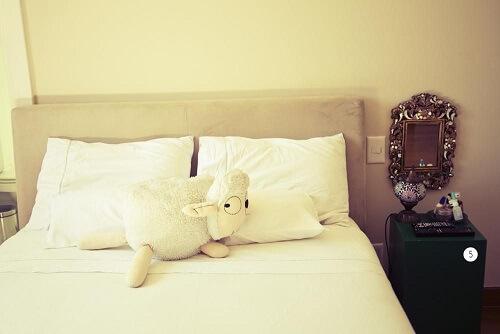 Almofadas decorativas de ovelha Projeto de Casa Aberta