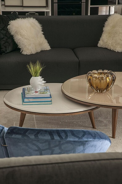 Almofadas decorativas felpudas Projeto de Erica Salguero