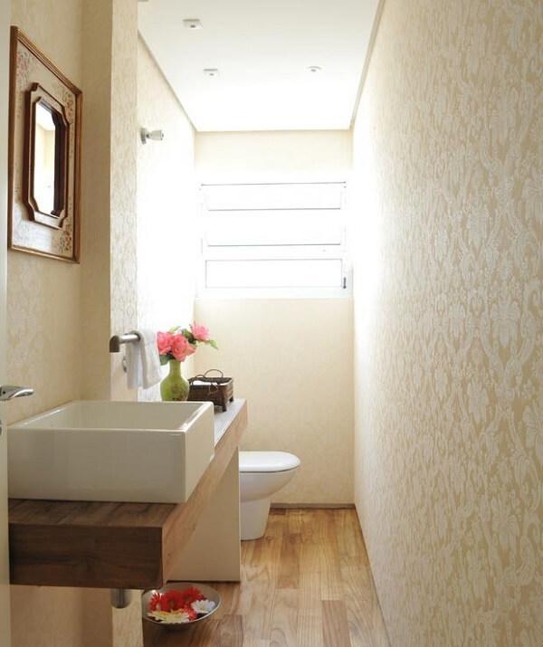Cuba para banheiro branca de sobrepor