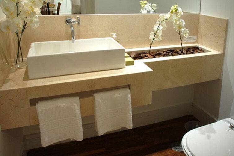 Cuba para banheiro externa