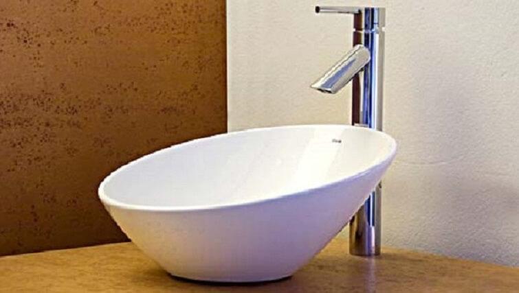 Cuba para banheiro na cor branca