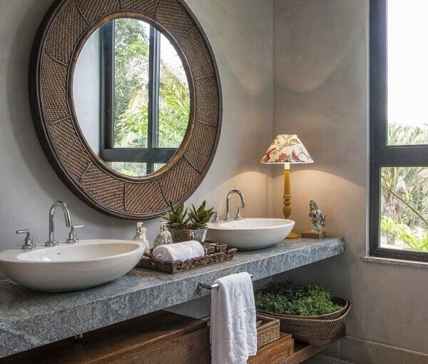 Cuba para Banheiro: +72 Modelos Lindos Para Decorar Seu Ambiente