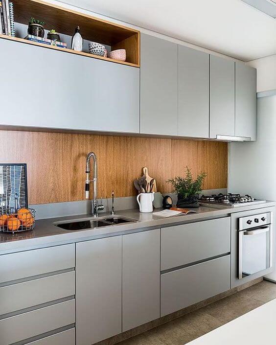 Armário de cozinha planejada moderna