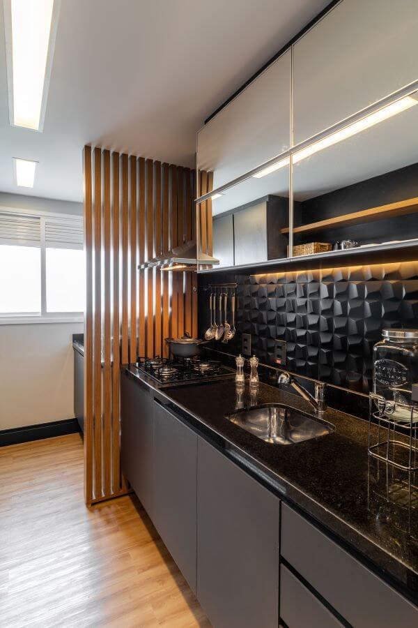 Decoração de cozinha compacta