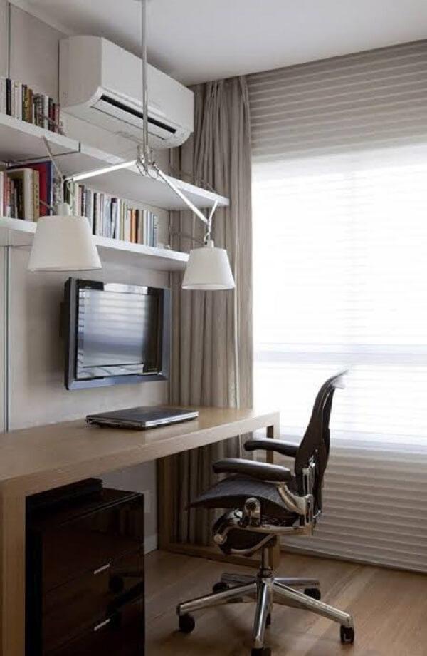 A cadeira para escritório planejado deve trazer conforto para o usuário