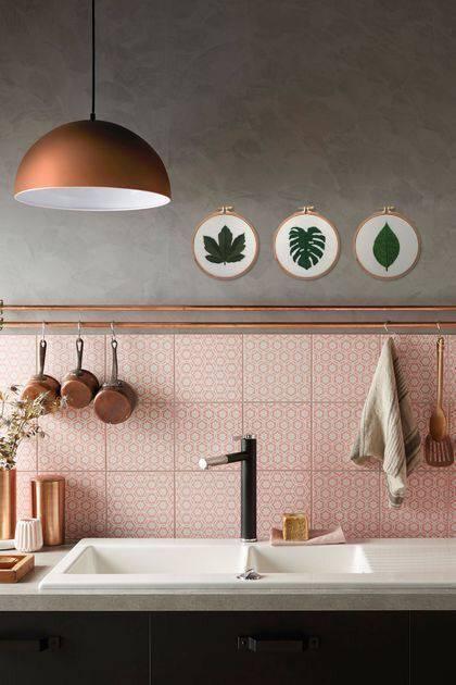 tons pasteis cozinha com azulejo